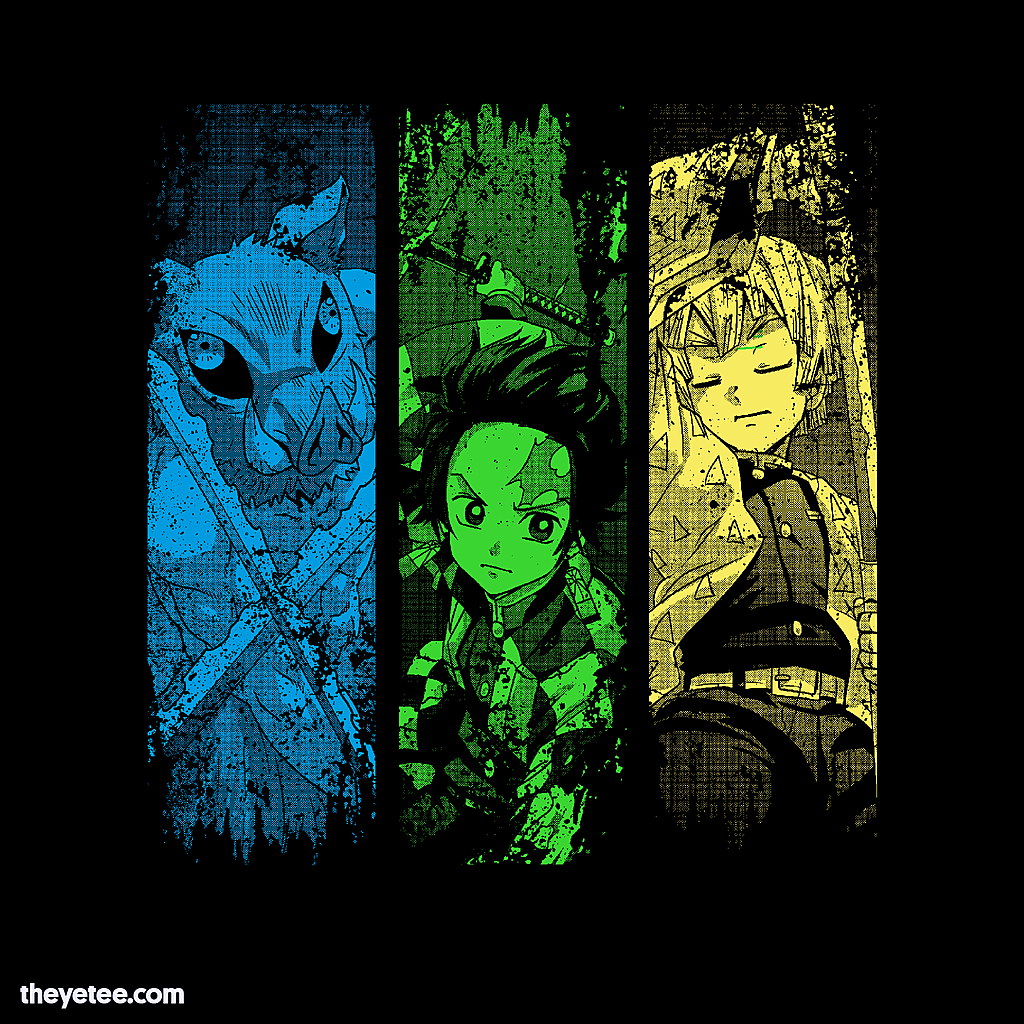 The Yetee: Colors of the Slayer