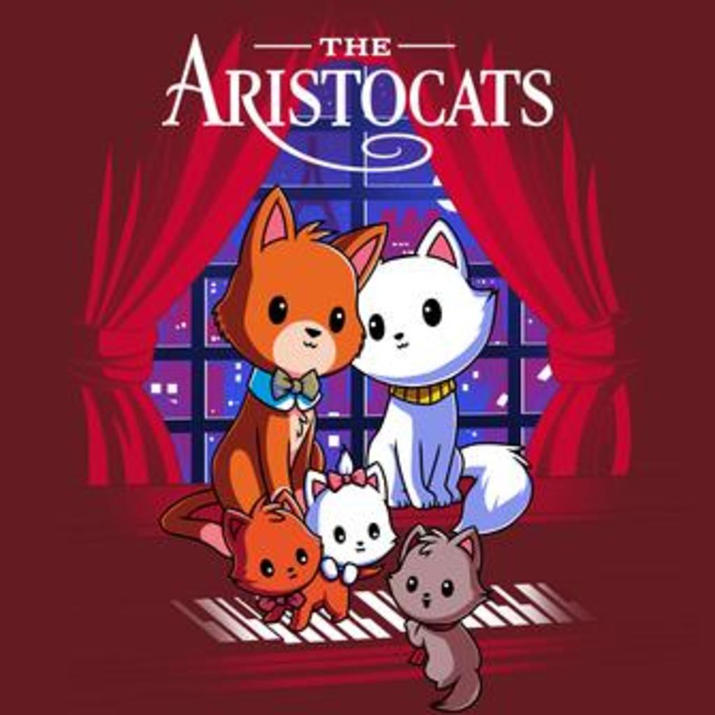 TeeTurtle: Disney The Aristocats