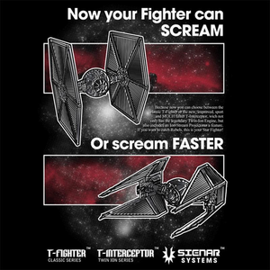 Curious Rebel: Ad Series: TIE Fighters