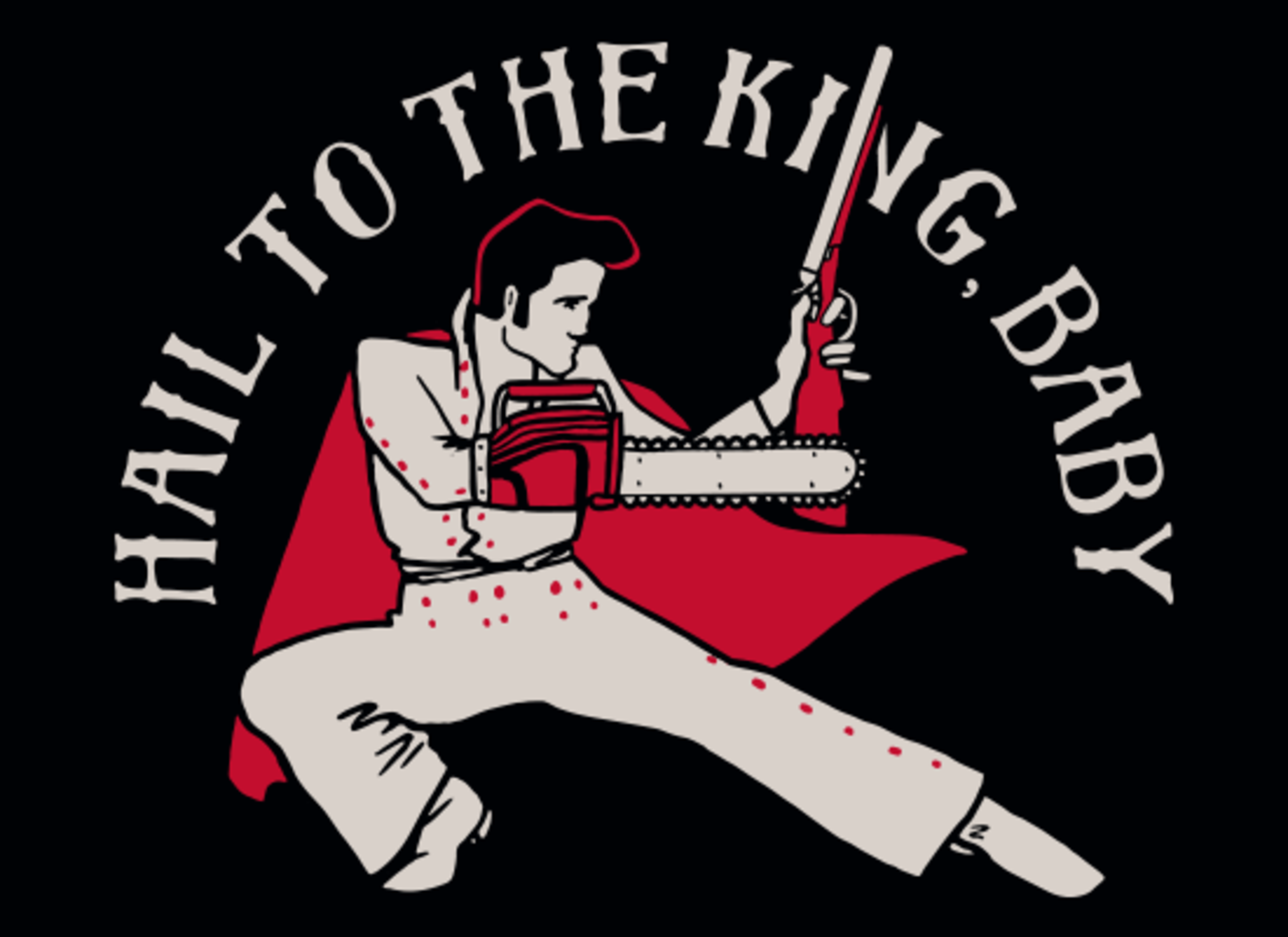 SnorgTees: Hail To The King, Baby