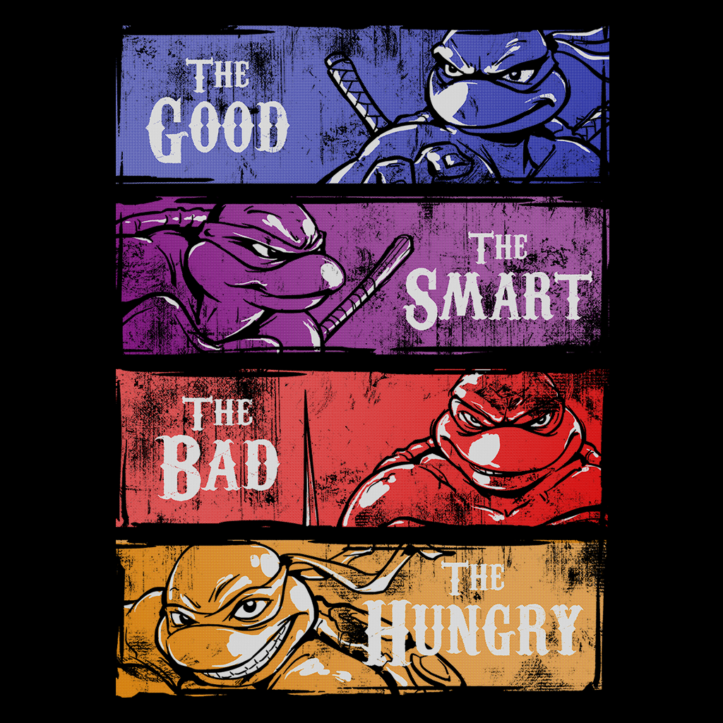 Pop-Up Tee: Good Bad Smart Hungry