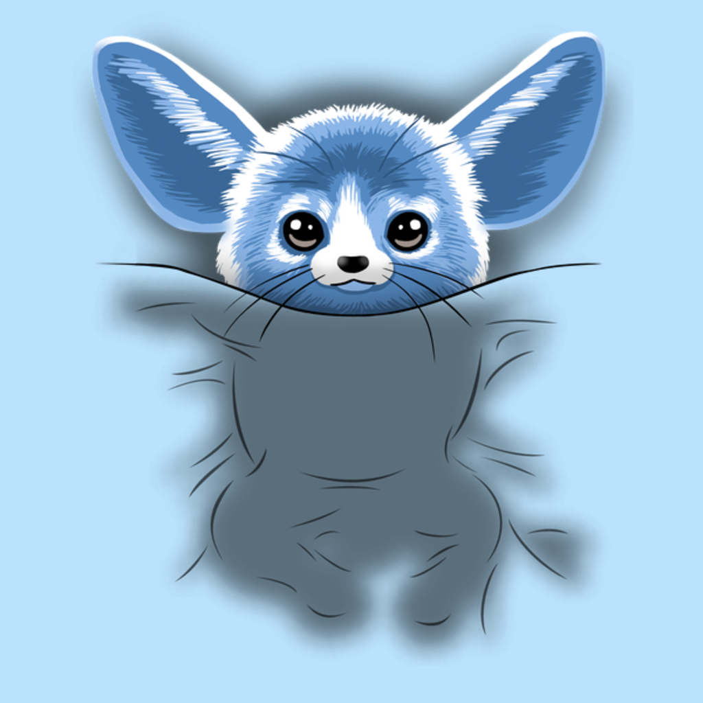 NeatoShop: Blue Rodent sleeping in bed