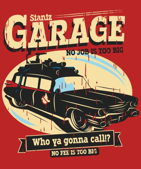 Qwertee: Stantz garage