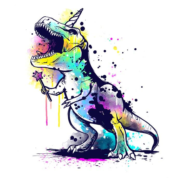 Once Upon a Tee: Unicornasaurus Rex