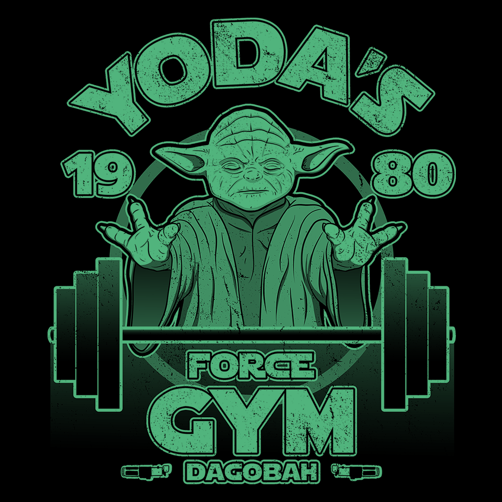 Pop-Up Tee: Dagobah Gym