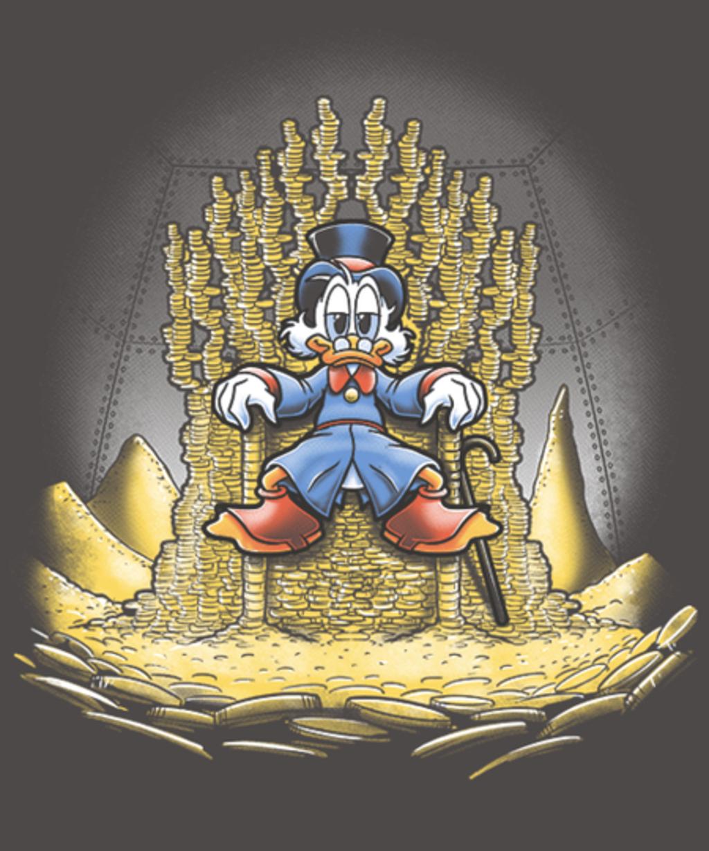 Qwertee: Gold throne