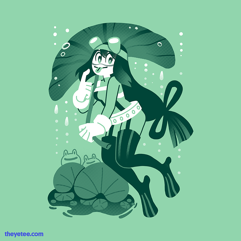 The Yetee: Froggy Day