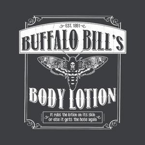 Five Finger Tees: Buffalo Bill's Body Lotion T-Shirt