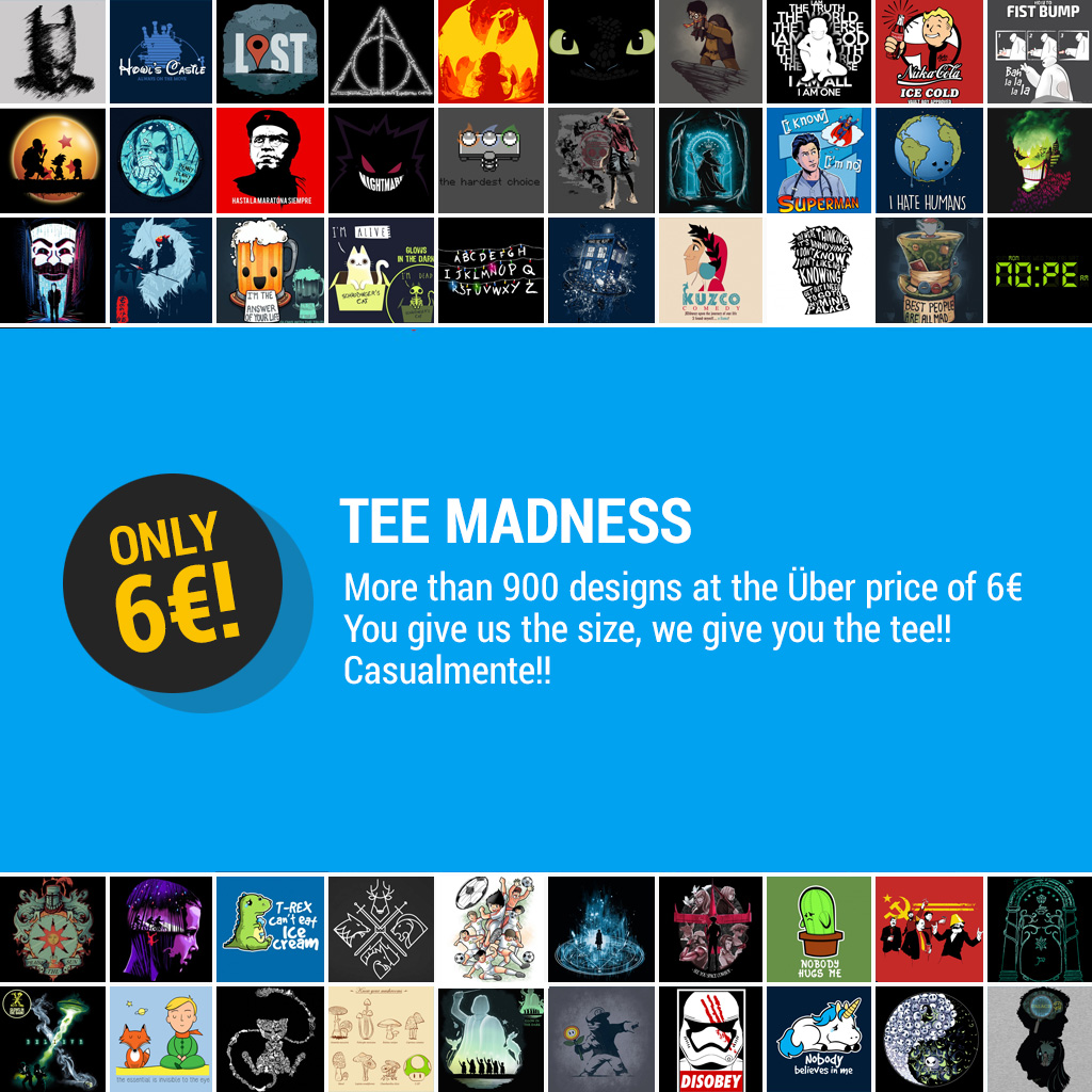 TeeTee: Tee Madness!!!