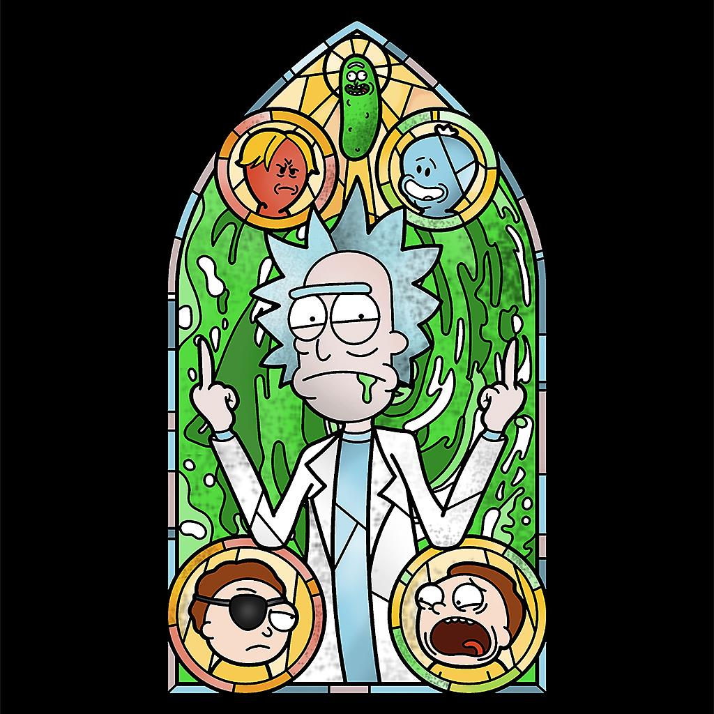 TeeTee: Holy Rick
