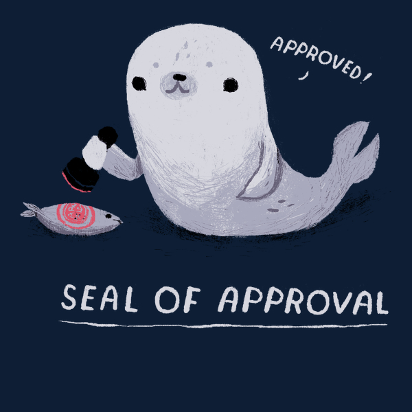 NeatoShop: seal of approval. approved