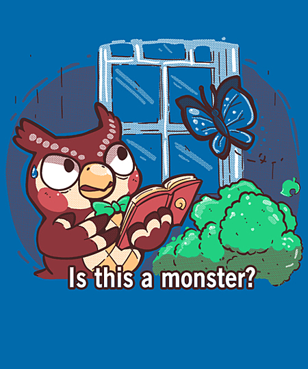 Qwertee: Is this a monster