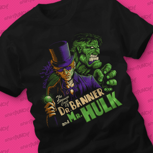 ShirtPunch: Dr. Banner & Mr.Hulk
