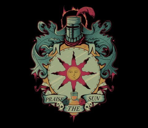 TeeFury: Crest of the Sun