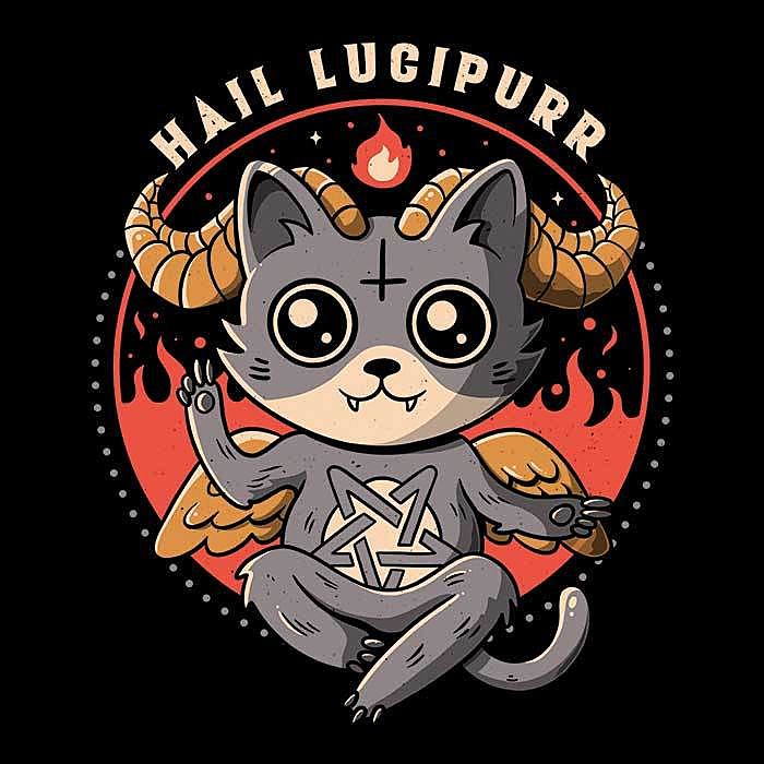 Once Upon a Tee: Hail Lucipurr