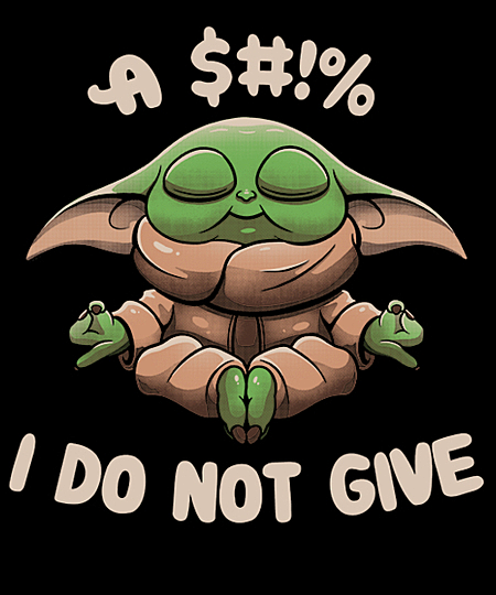 Qwertee: A $#!% I Don't Give