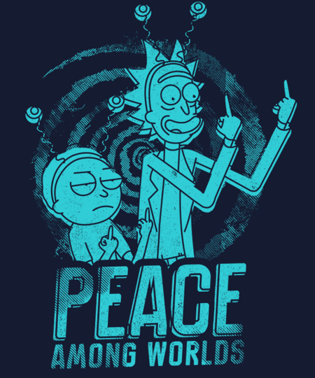 Qwertee: Peace Among Worlds