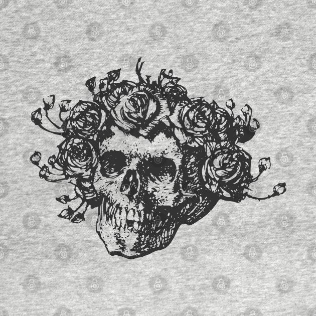 TeePublic: Grateful Dead Skull