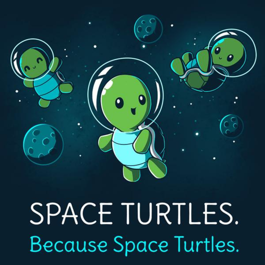TeeTurtle: Space Turtles