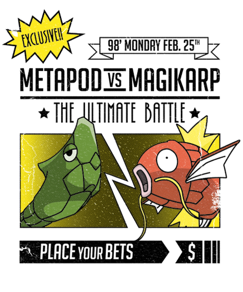 Qwertee: Ultimate Pokébattle