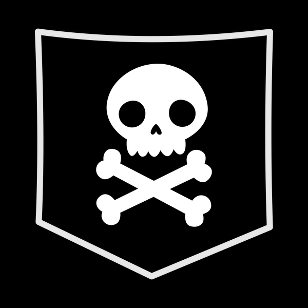 NeatoShop: Skulls can be cute halloween pocket design