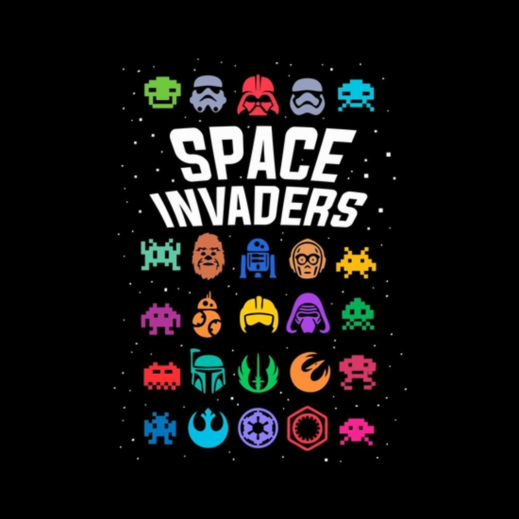 BustedTees: space invaders