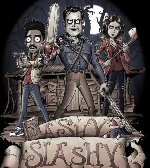 teeVillain: Ashy Slashy
