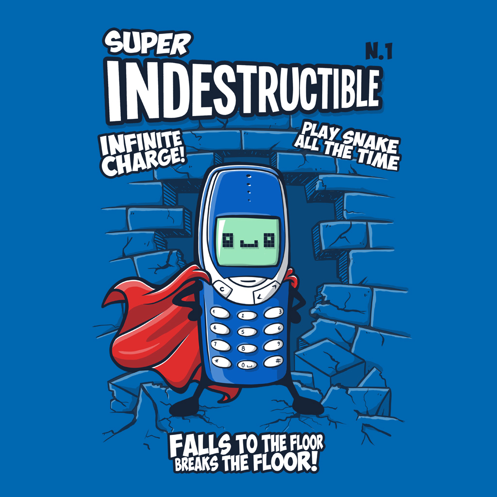 TeeTee: 3310: Super Indestructible