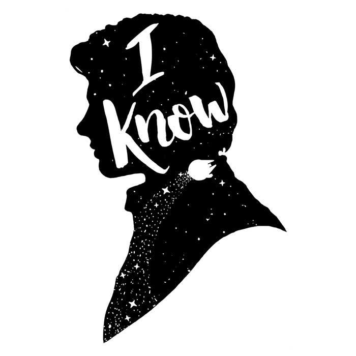 Once Upon a Tee: I Know
