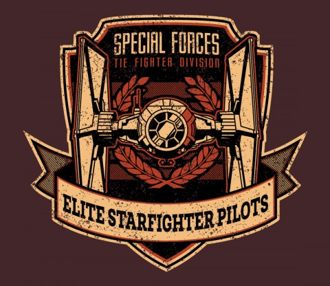TeeFury: Elite Starfighter Pilots