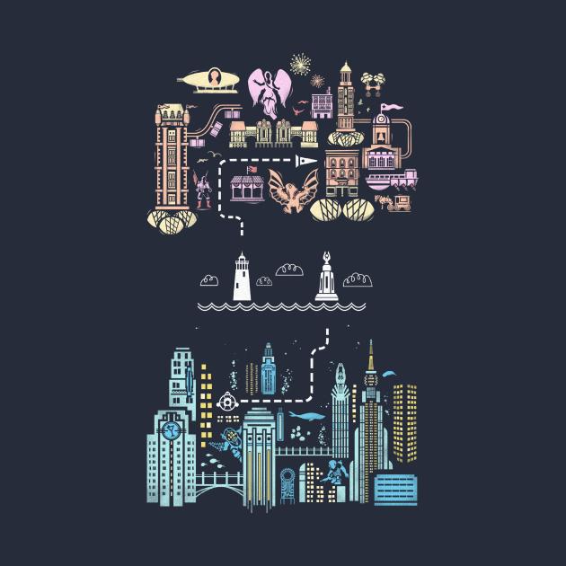 TeePublic: Tale of 2 Cities