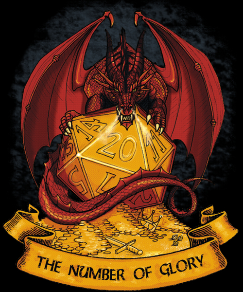 Qwertee: The Number of Glory