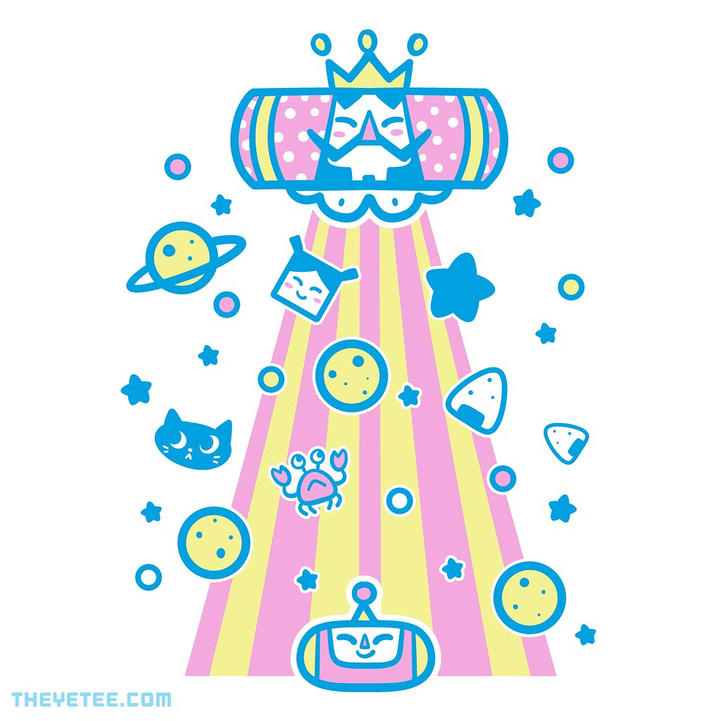 The Yetee: Touch My Universe
