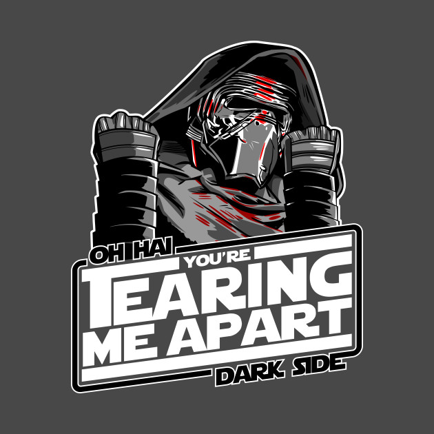 TeePublic: Oh Hai Darkside T-Shirt
