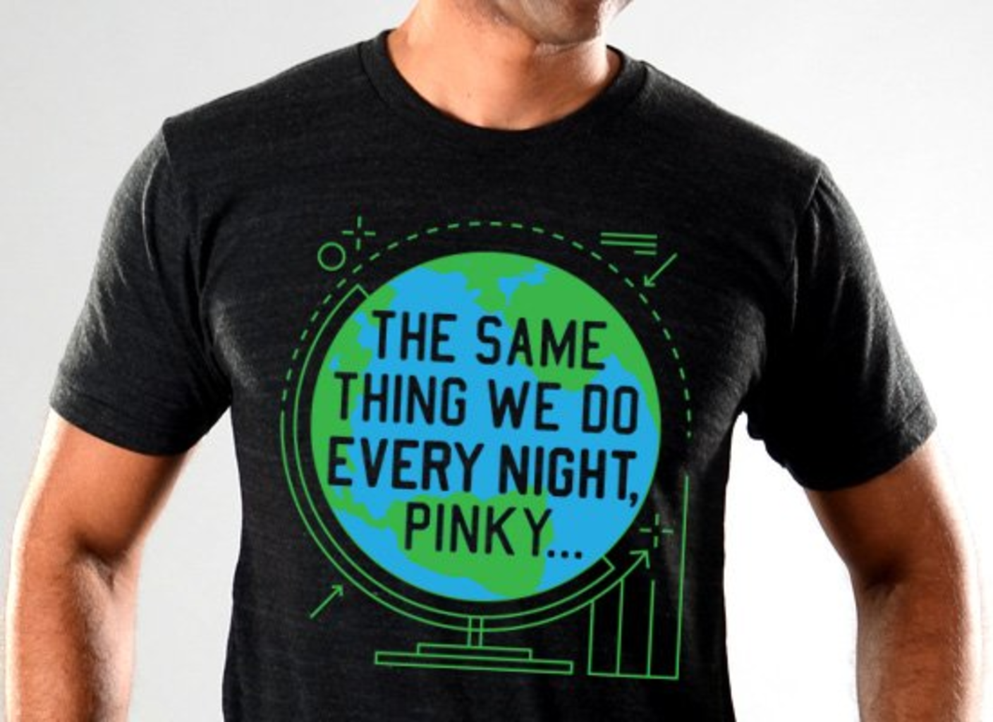 SnorgTees: The Same Thing We Do Every Night Limited Edition Tri-Blend