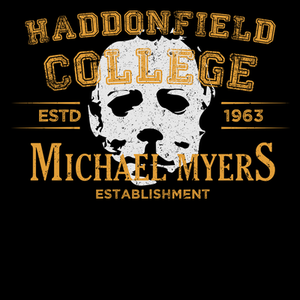 Pop-Up Tee: Haddonfield College