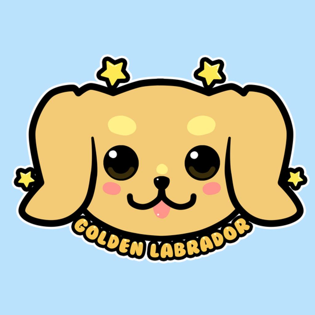 NeatoShop: KAWAII Golden Labrador Dog Face