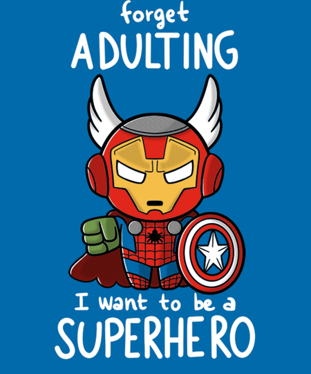 Qwertee: Forget Adulting