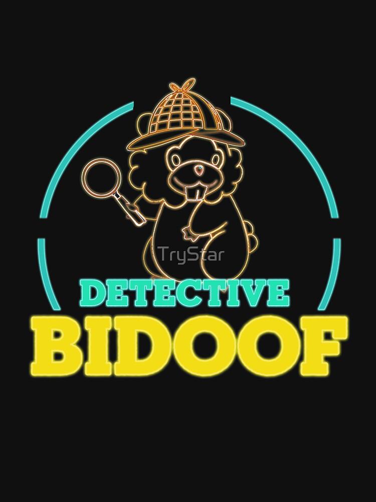 RedBubble: Funny Pokemon Detective Bidoof design
