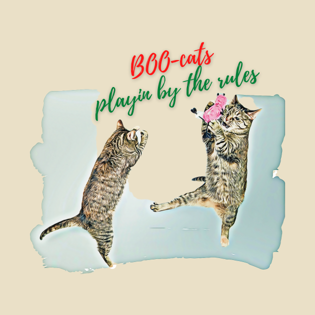 TeePublic: BOO-cats, playin by the rules