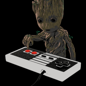Qwertee: Don't push the A button!