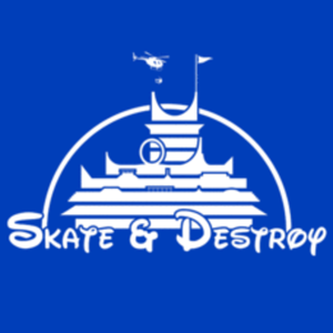 Textual Tees: Skate and Destroy