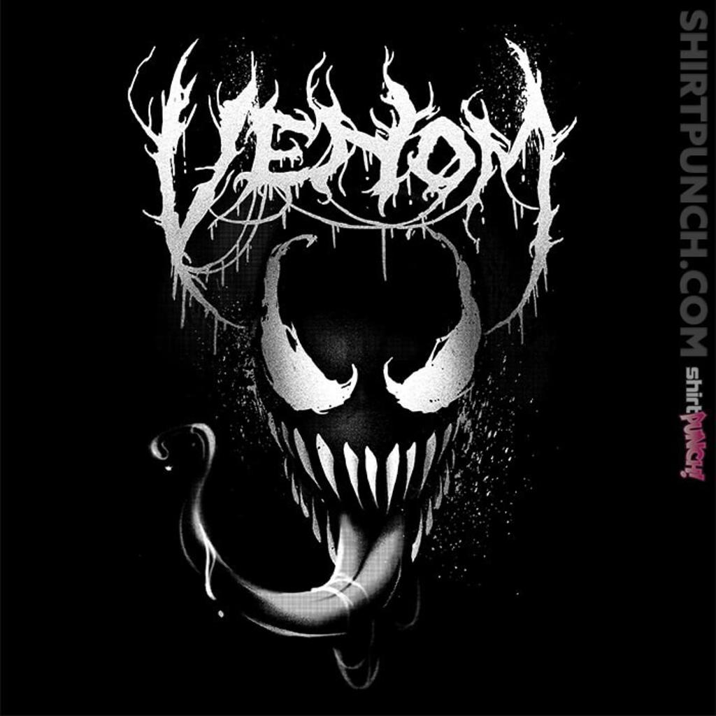 ShirtPunch: Venom Metal