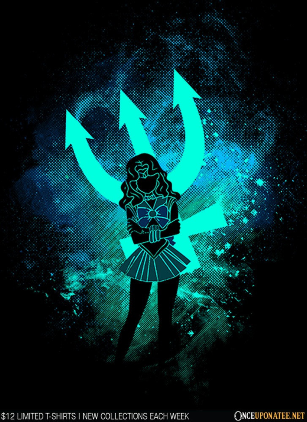 Once Upon a Tee: Neptune Art
