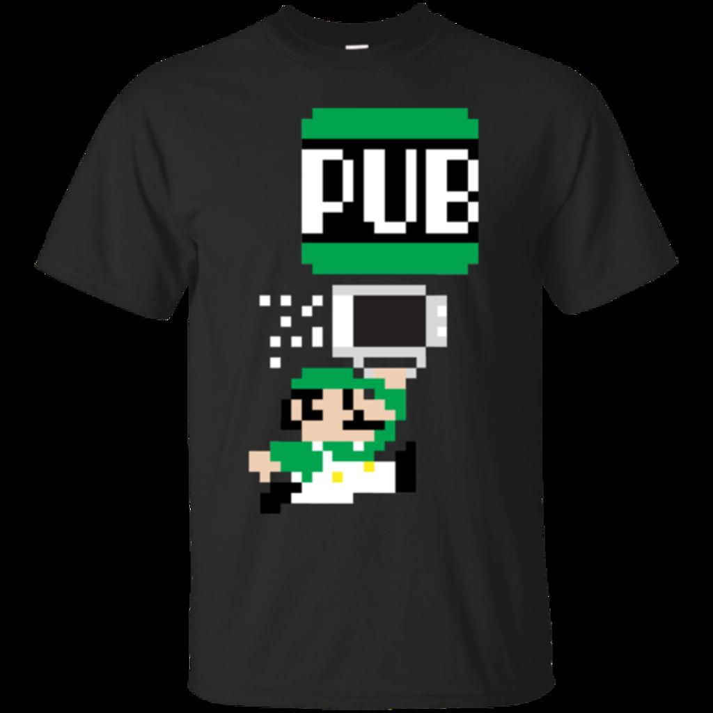 Pop-Up Tee: To The Pub Luigi