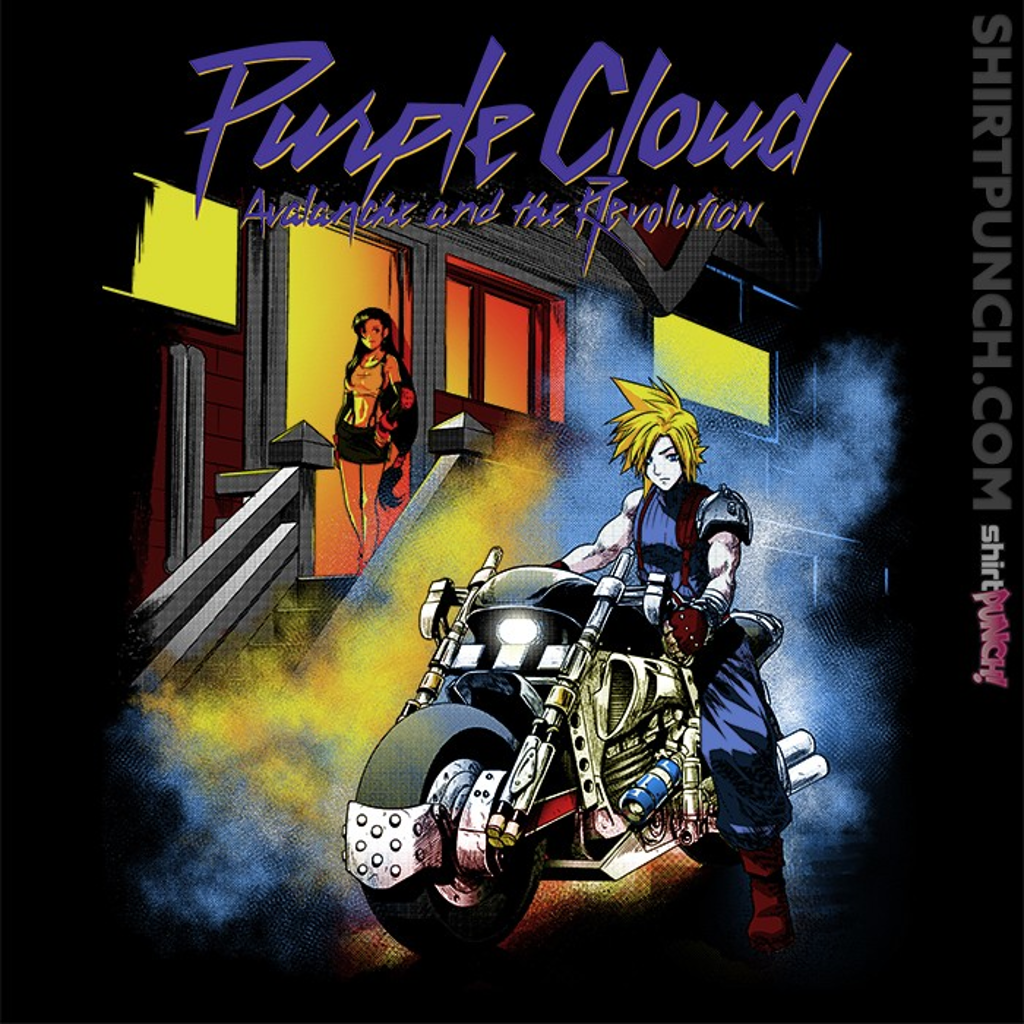 ShirtPunch: Purple Cloud