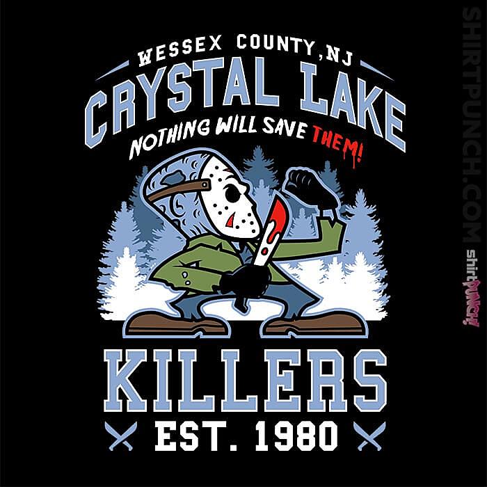 ShirtPunch: Crystal Lake Killers