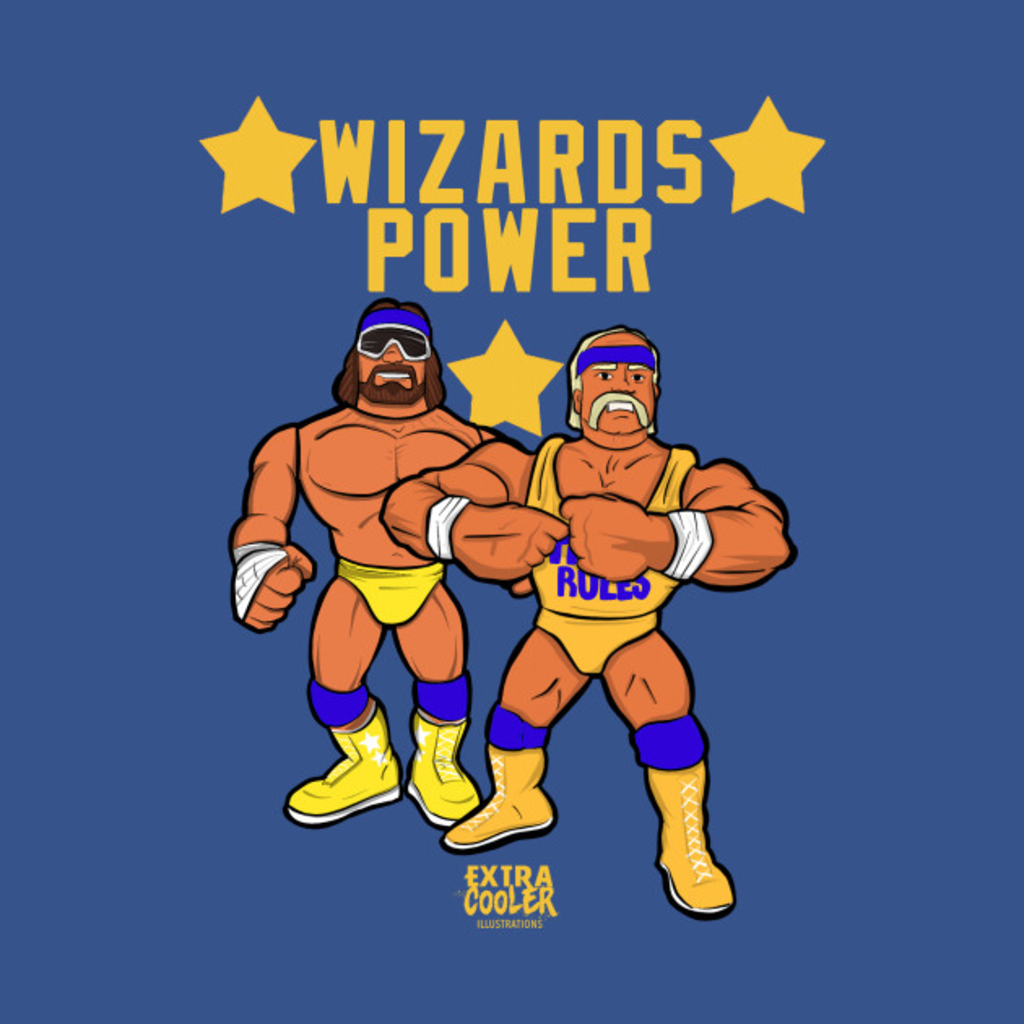 TeePublic: Wizard Power