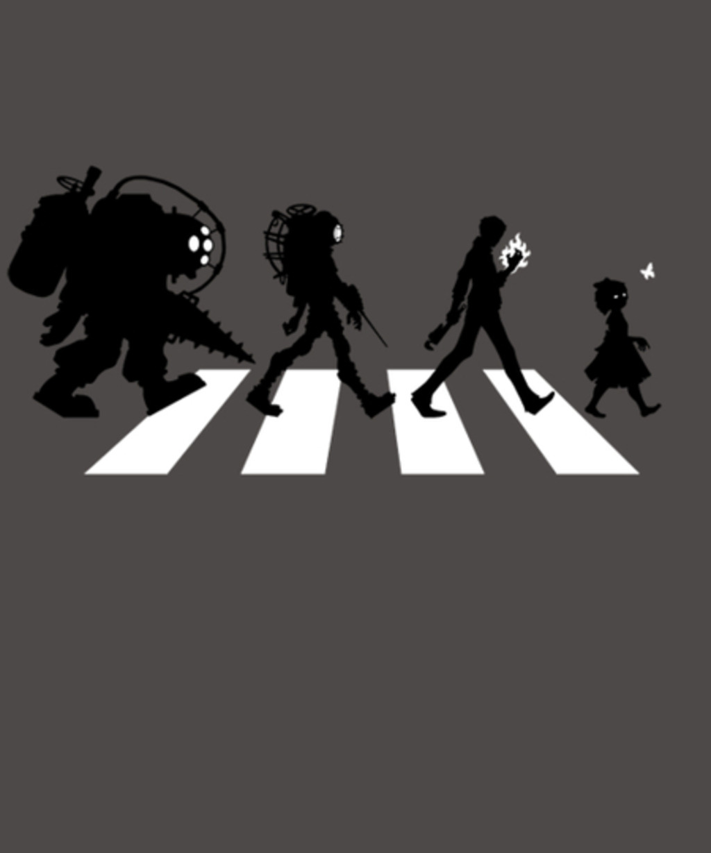 Qwertee: Rapture Road
