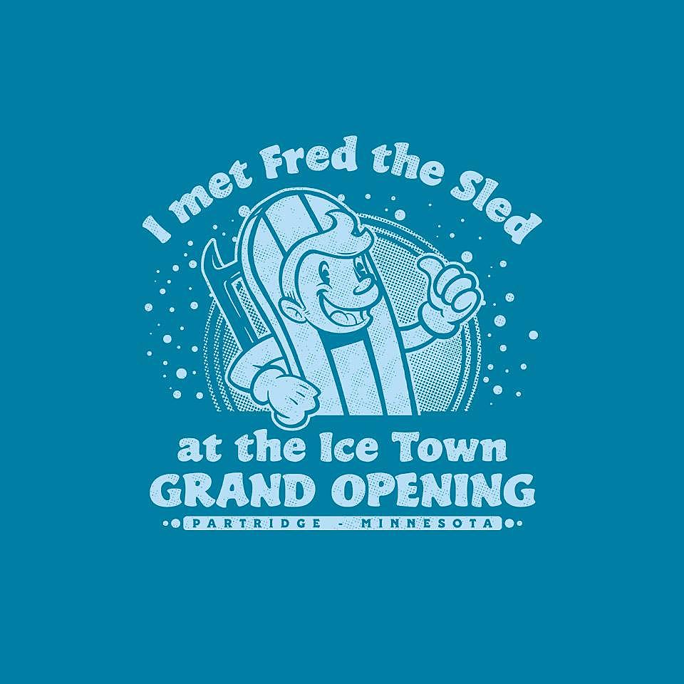 TeeFury: Fred the Sled